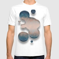 The More You Know... Mens Fitted Tee MEDIUM White