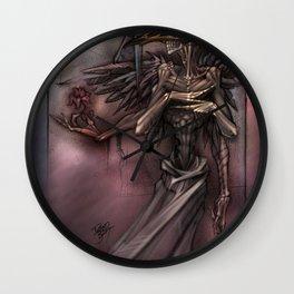 Bird Skull Prophesy Wall Clock