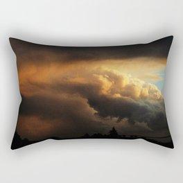 angry cloud Rectangular Pillow