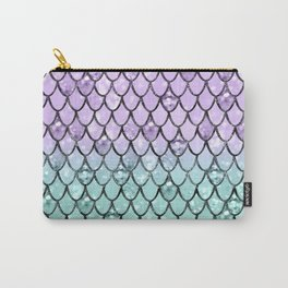 Mermaid Princess Glitter Scales #2 #shiny #pastel #decor #art #society6 Carry-All Pouch