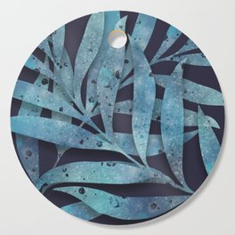 Watercolor Ferns Cutting Board