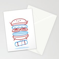 Street burger  Stationery Cards