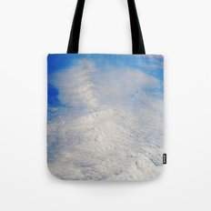 above the clouds #     # Tote Bag