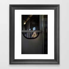 Train to Siena, Italy Framed Art Print