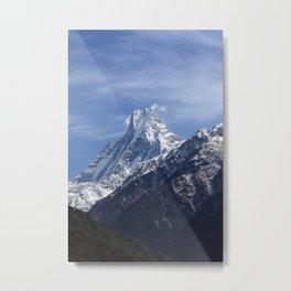 Majestic Peak Metal Print