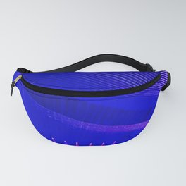 Tron Vibes Fanny Pack