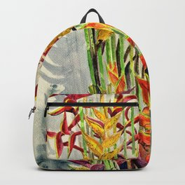 Heliconia Bouquet Backpack