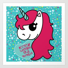 Official Unicorn Club Art Print