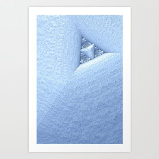 The Snowman's Heart Art Print
