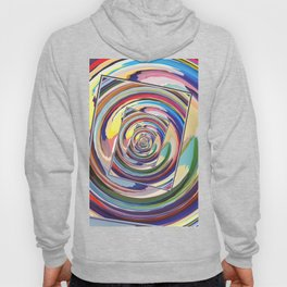 Spinning Colors Abstract Hoody