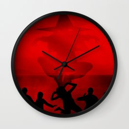 Season Of The Witch Wall Clock