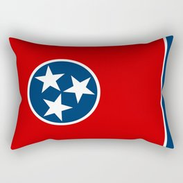 Flag of Tennessee - Authentic High Quality Image Rectangular Pillow