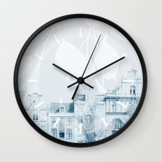 springtime in amsterdam Wall Clock