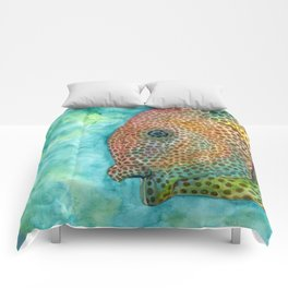 freckle fish Comforters