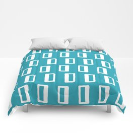 Chad Pattern Turquoise Comforters