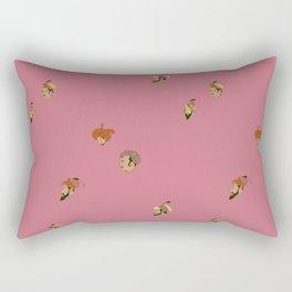 Mughal Emperors Pattern Rectangular Pillow