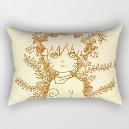 The Orange Spark Rectangular Pillow