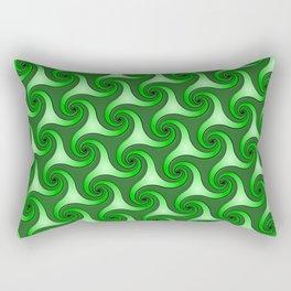 Spiral Triskeles Rectangular Pillow