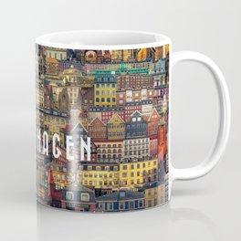 Copenhagen Facades Coffee Mug