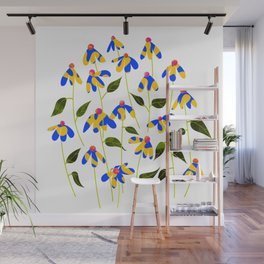 Touched By Love #illustration #painting Wall Mural