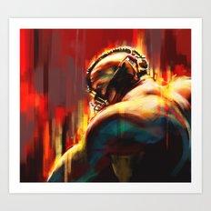 Break Art Print