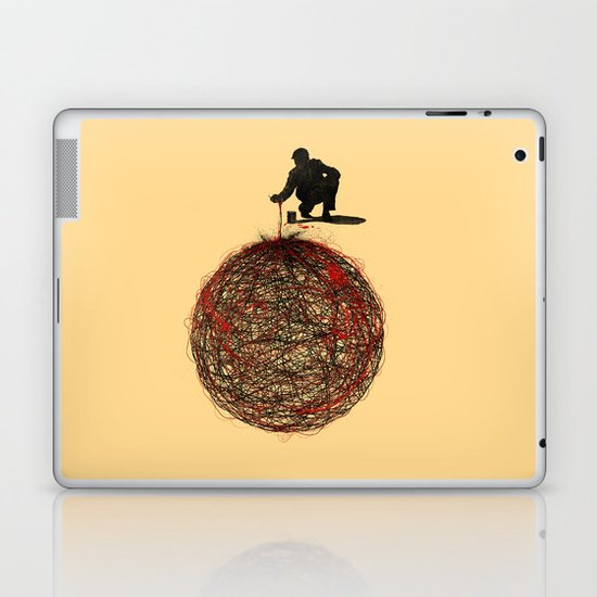 Abstract Connection Laptop & iPad Skin