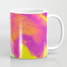Acrylic pour psychedelia Coffee Mug
