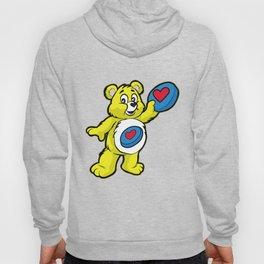 Ultimate FRISBEE TEDDY BEAR Catch funny Hoody