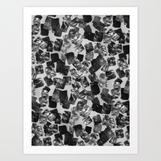 tear down (monochrome series) Art Print