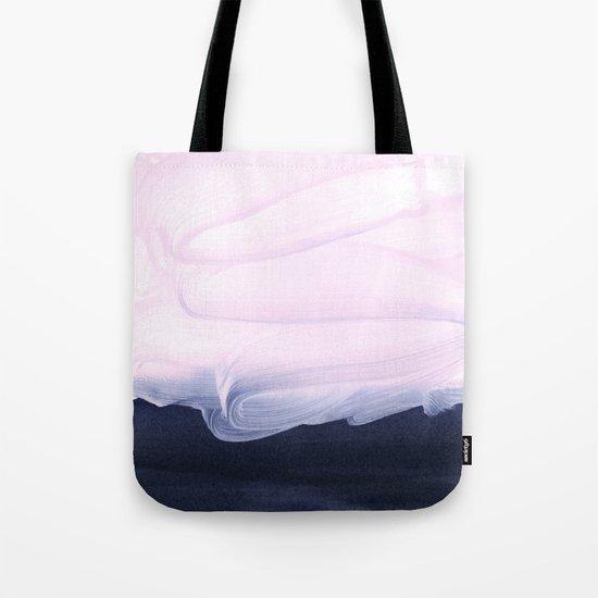 pink & blue Tote Bag