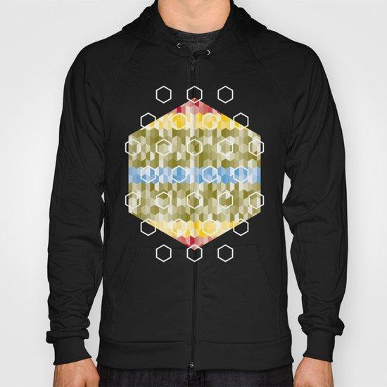 Hexagon pattern Hoody
