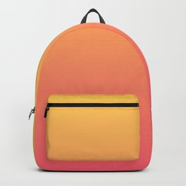 Ombre Pink Gold Backpack