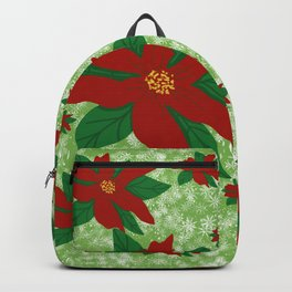 The Christmas Flower Backpack
