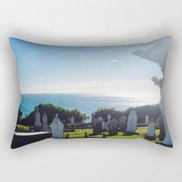 Rest in Beach Rectangular Pillow