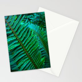 Flowing Ferns Stationery Cards