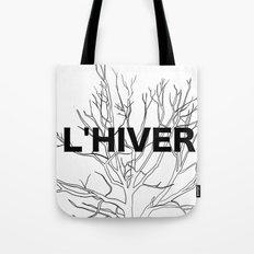 L'HIVER Tote Bag