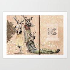 The Start of Something Beautiful Art Print