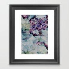 Winter Leaf Litter Framed Art Print