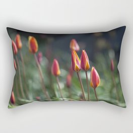 Fairy Tulip Buds Rectangular Pillow