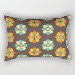 Retro Flower 301 Rectangular Pillow