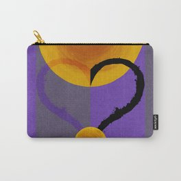 Amethyst Two Carry-All Pouch