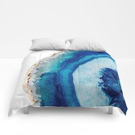 Agate Watercolor 2 Comforters