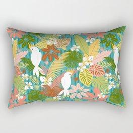 Bohemian Bahama -Tropical Pattern Rectangular Pillow