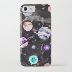 Marble Galaxy Slim Case iPhone 8