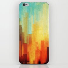 Urban sunset iPhone & iPod Skin