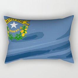 Nevada Fancy Flag Rectangular Pillow