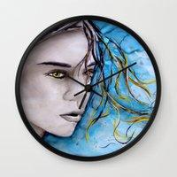 ale giorgini Wall Clocks featuring Ale by Alux Medina