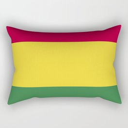 Bolivia flag emblem Rectangular Pillow