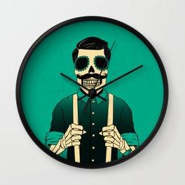 Holy Bones Wall Clock