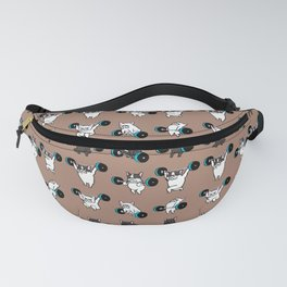OLYMPIC LIFTING  FRENCH BULLDOG Fanny Pack